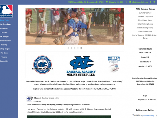 North Carolina Baseball Academy
