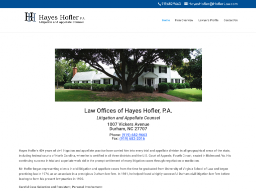 Hayes Hofler Law